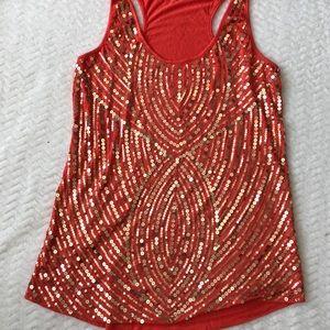 Sequins embellished top